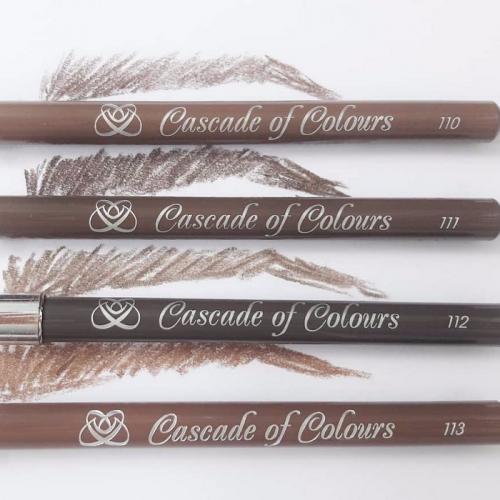 Как подводить брови карандашом. Выбор цвета карандаша для бровей: оптимальные оттенки