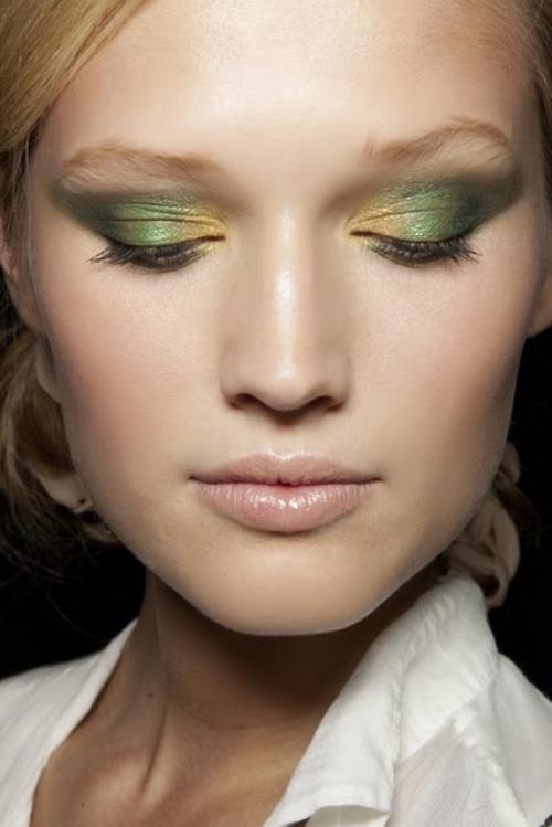 Тени зеленые глаза. Самые подходящие цвета теней для зеленых глаз