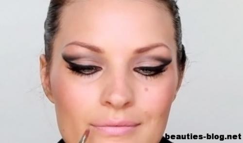 Макияж 60 х годов, как сделать. Превосходный макияж в стиле 60-х годов