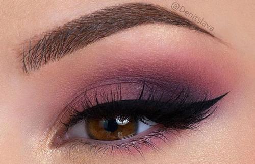 Тени для век карие глаза. Вечерний макияж для карих глаз: пошаговое руководство+фото