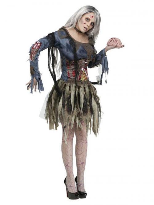 Образ Зомби на Хэллоуин. Образ: Зомби