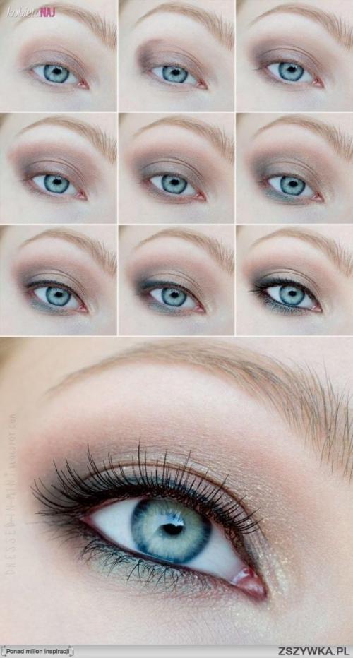 Естественный макияж зеленых глаз. Натуральный макияж для зеленых глаз