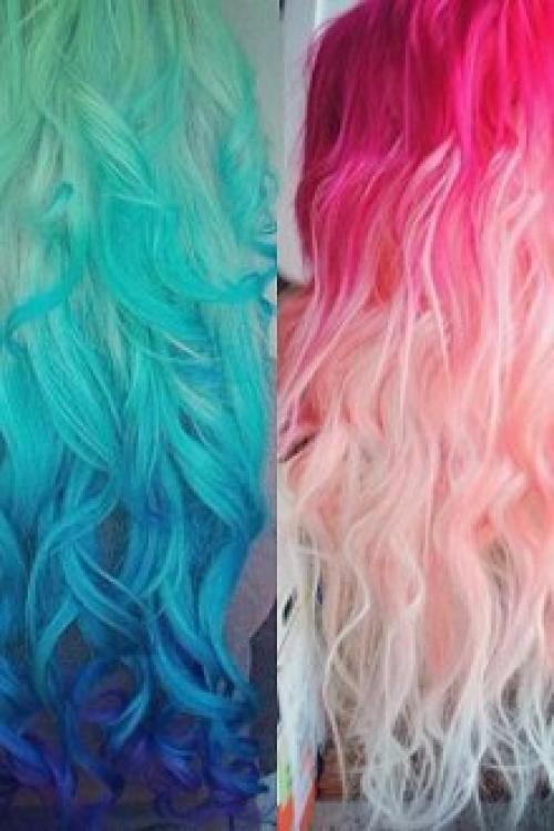 Как покраситься тоником. Покраска волос тоником: меняем цвет прядей быстро и безопасно