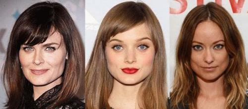 Женские короткие стрижки для широкого лица. Прически для длинных волос 07