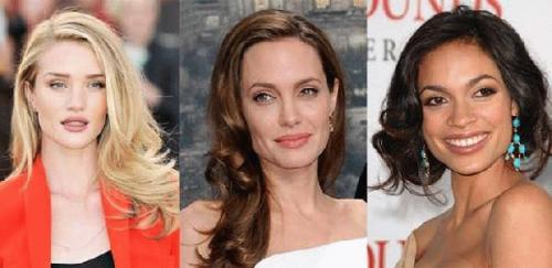 Женские короткие стрижки для широкого лица. Прически для длинных волос 12