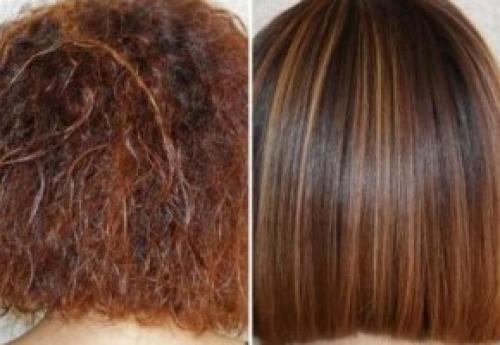Вред и польза кератина для волос. «За»…