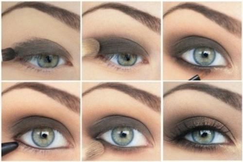 Макияж к голубым глазам и темным волосам. Smoky eyes: пошаговая инструкция