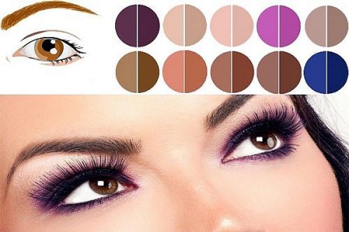 Тени для карих глаз и русых волос. Как подобрать тени для карих глаз по цвету волос