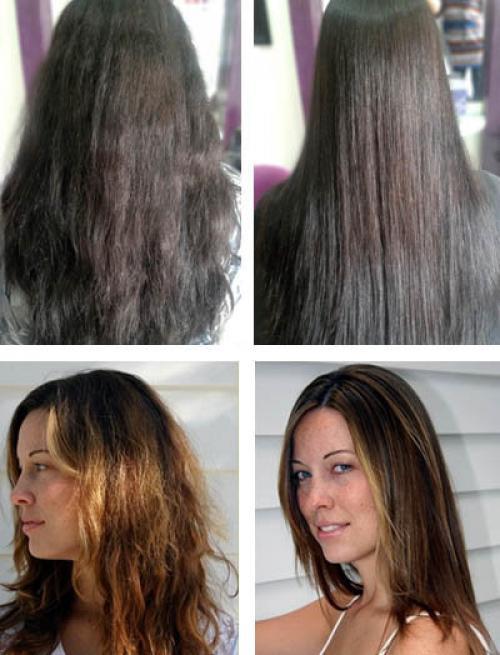 Ботокс волос до после. Особенности ботокса для волос