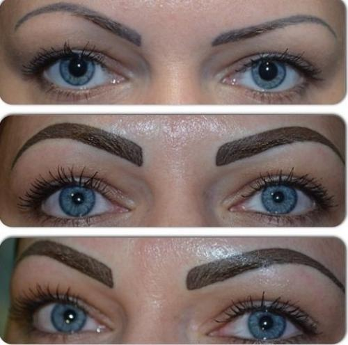 Неудачный перманентный макияж бровей. ЭТО ПРОВАЛ: НЕУДАЧНЫЙ ТАТУАЖ БРОВЕЙ