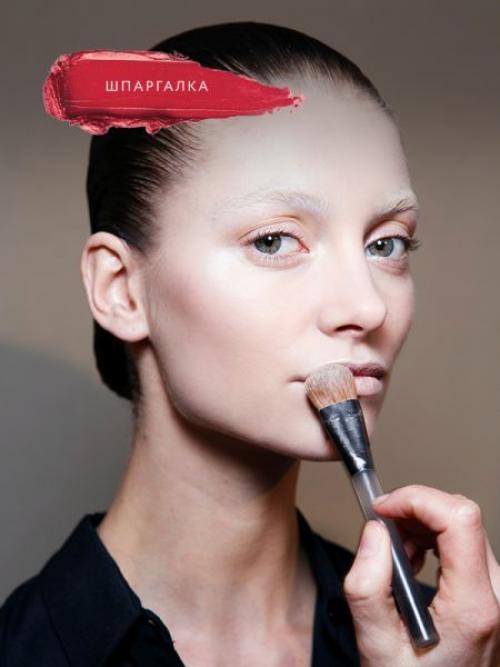 Лица для макияжа. Как правильно наносить макияж на лицо?