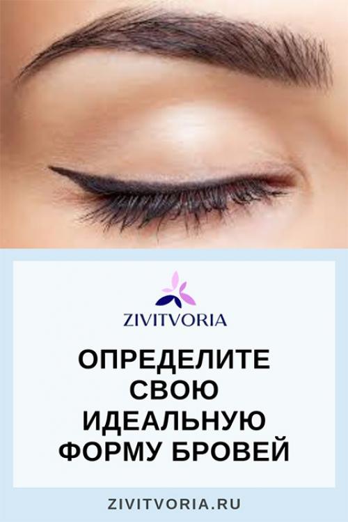 Как выбрать по типу лица форму бровей. Как правильно выбрать идеальную форму бровей по типу лица?