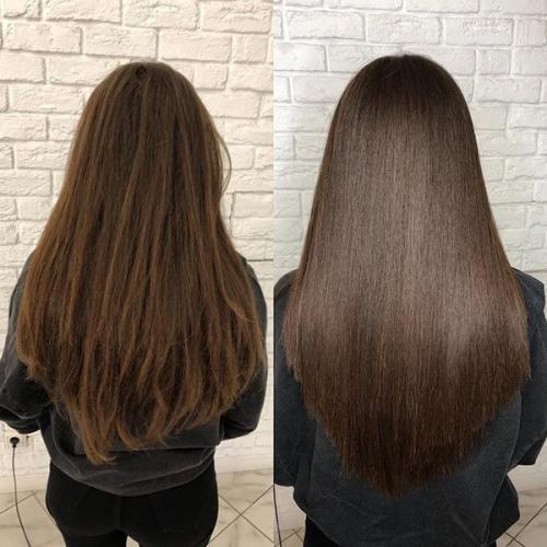 Ботокс для волос, как делают процедуру. Ботокс для волос фото до после
