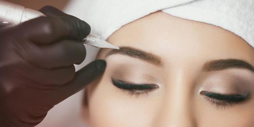 Когда можно выщипывать брови после татуажа. Татуаж бровей уход после процедуры