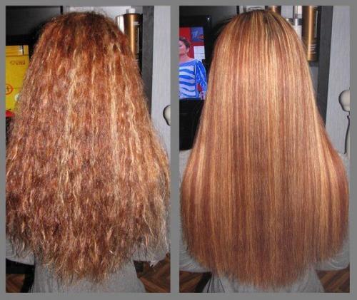 Кератиновое выпрямление волос чем опасно. Вред от использования кератина для волос