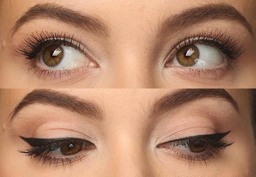 Ресницы кошачий эффект. Кошачий взгляд: 2 способа сделать безупречный cat-eye-макияж