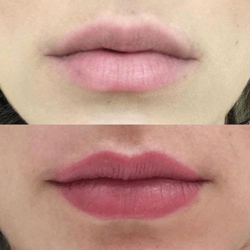 Как выглядят губы после татуажа. Виды перманентного макияжа губ