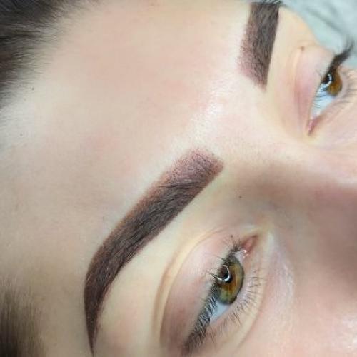 Перманентный макияж бровей в технике теневой растушевки. Что такое растушевка бровей