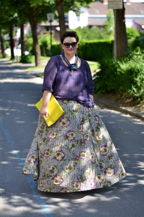 Мода для полных женщин 60 лет. Секреты моды для полных в возрасте 60 — 65 лет