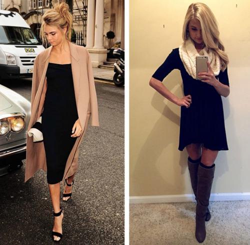 Стильные советы от Эвелины Хромченко. Как стоит носить маленькое черное платье
