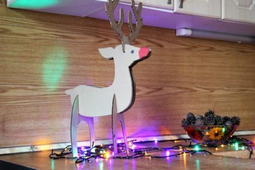 Северный олень своими руками. Новогодний олень своими руками: несколько простых вариантов изготовления