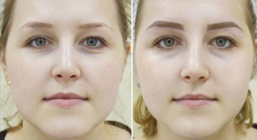 Татуаж бровей фото. Техника выполнения перманентного макияжа