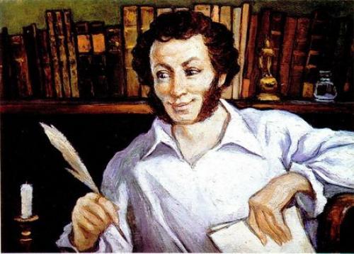 Какого цвета были глаза у Пушкина