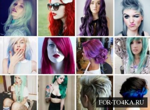 Дневной макияж для красных волос. Разукрасить радугу