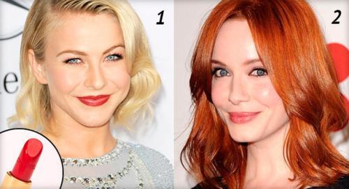 Какой цвет помады подходит к красным волосам. Подбираем помаду по цвету волос