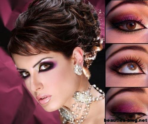 Конкурсный макияж для бальных танцев. Профессиональный макияж для бальных танцев