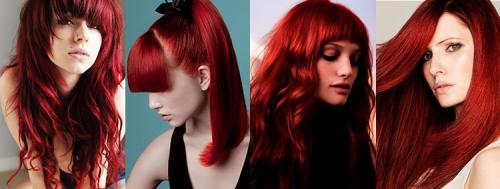 Как одеваться с красными волосами. Красные волосы