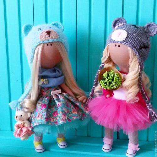 Шьем текстильную куклу. Куклы из ткани своими руками.