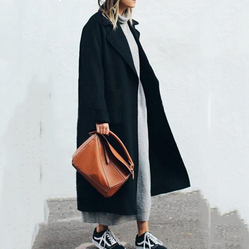Ботинки и пальто образ. Выбираем обувь под длинное пальто
