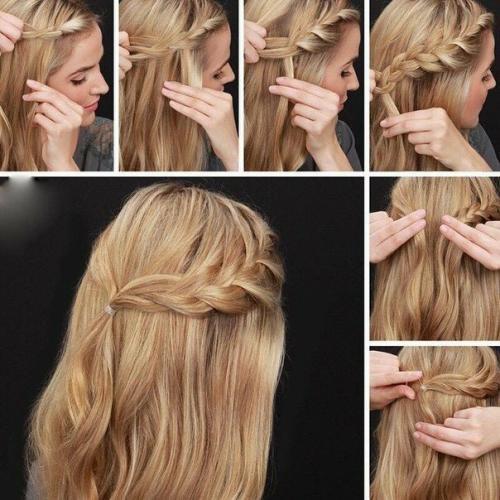 Как быстро заколоть волосы средней длины. Варианты на стрижку средней длины