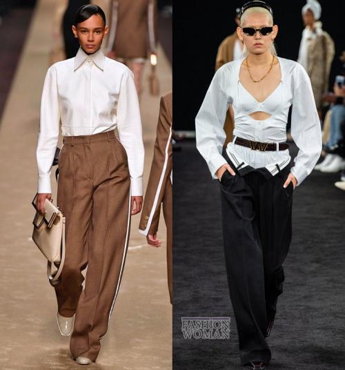 Модные брюки для полных женщин осень-зима 2019 2019. Модные брюки осень-зима 2019-2020