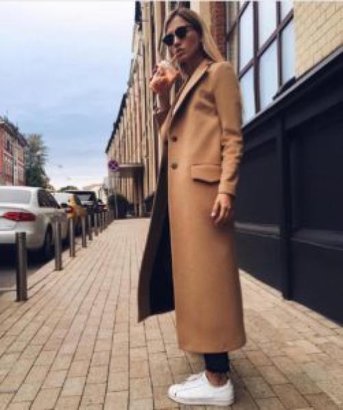 Кроссовки с пальто, как носить. Как носить пальто с кроссовками