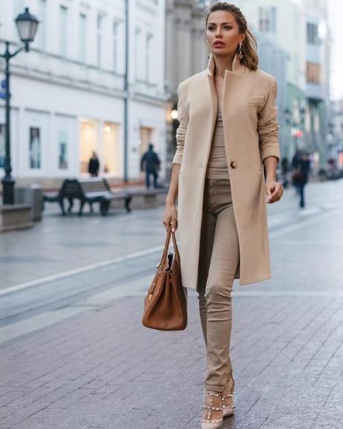 С чем носить пальто реглан. Выбираем пальто