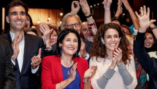 Грузинские женщины политики. Президент Грузии — женщина, впервые в истории страны. Кто она и почему победила?