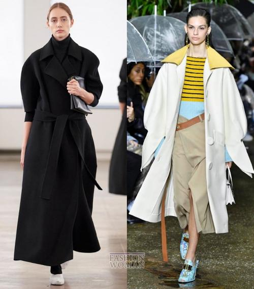 Модные луки 2019 пальто. Модные пальто 2020: основные тенденции