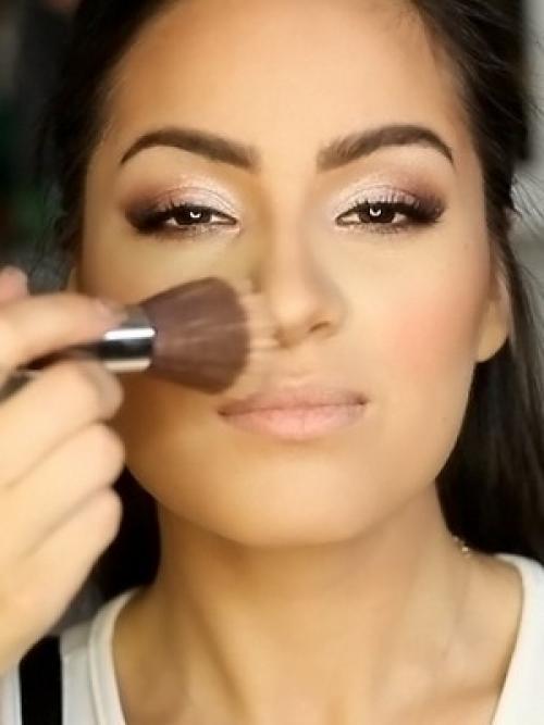 Красивый осенний макияж поэтапно. Осенний макияж для карих глаз 2019: фото и видео макияжа для осени