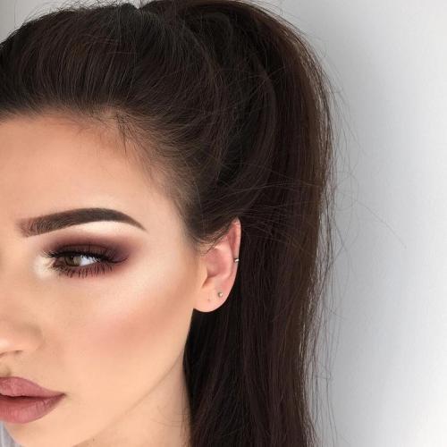 Красивый осенний макияж поэтапно для карих глаз. Что нужно для вечернего макияжа