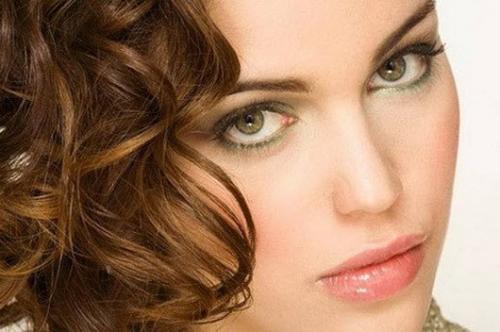 Осенний макияж для зеленых глаз. Цветовая палитра для макияжа зеленых глаз