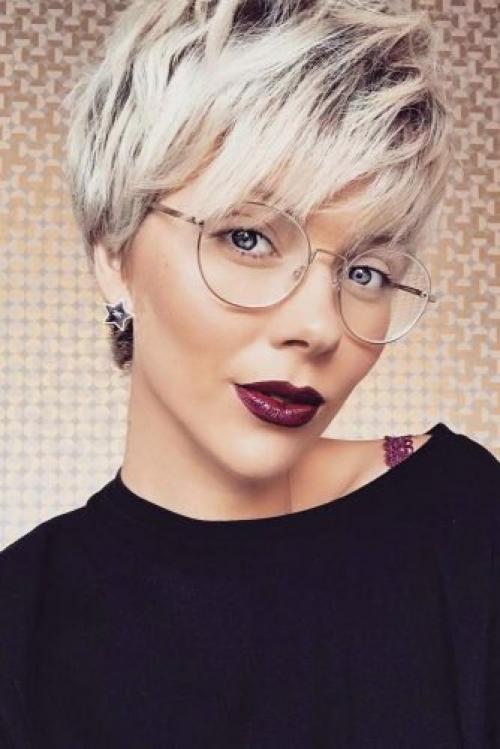 Модные стрижки на короткие волосы для женщин за 50 в 2019 году.  Стрижка пикси: варианты.