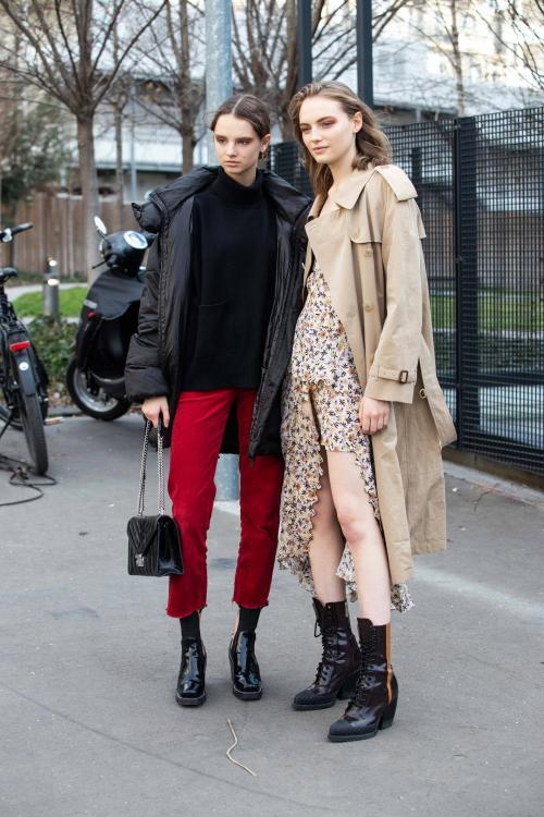 Модные уличные луки осень-зима 2019 2019. Уличная мода осень-зима 2019-2020 для женщин