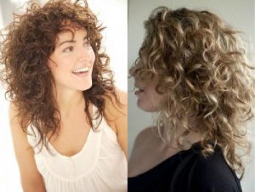 Короткие стрижки для вьющихся волос 2019. Модные прически средних кудрявых волос 2019