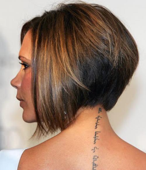 Стрижки на вьющиеся волосы и круглое лицо. Боб-каре