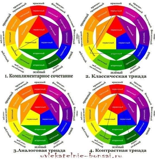 Цветовой круг сочетание цветов в макияже. Цветовой круг и правильное сочетание цветов.