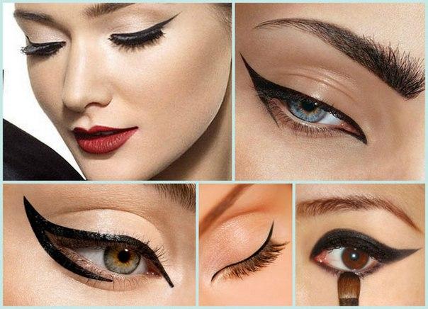 Красивые макияжи для глаз и стрелки