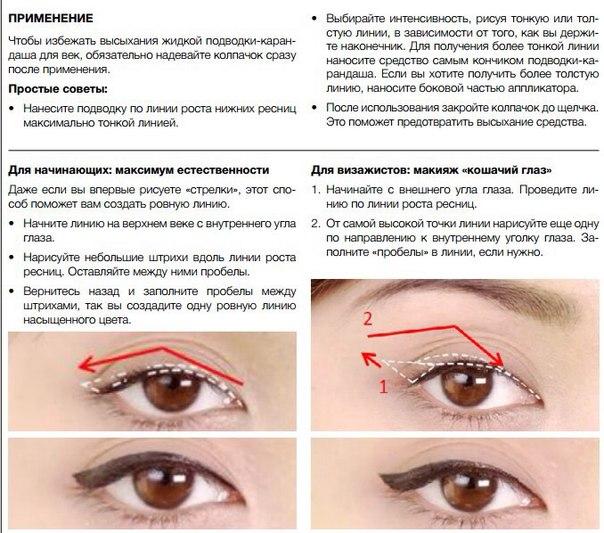стоит обратить как правильно пользоваться карандашом для глаз образом