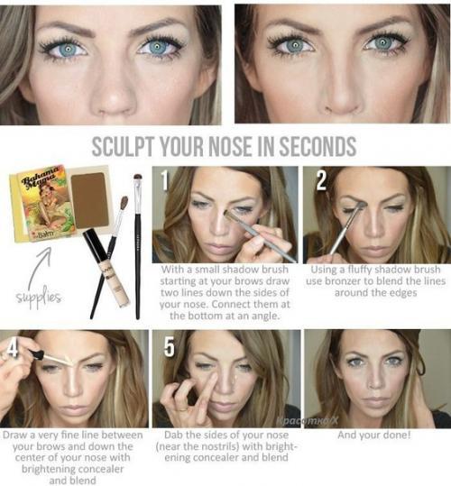 Карандашная техника в макияже фото и видео » Макияж 10